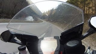 preview picture of video 'KTM 1190 RC8 R - Klostertal to Kalte Kuchl'
