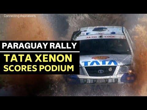 Tata Xenon gets a podium finish at the Paraguay Cross Country Rally 2018