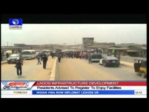 LAGOS: Fashola Inspects Projects In Ikorodu, Kosofe