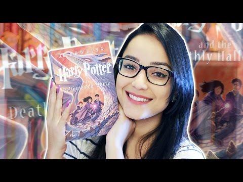 HARRY POTTER E AS REL�QUIAS DA MORTE | Lendo Harry Potter | Nuvem Literária