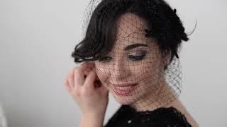 She Rocked The Black Wedding Dress... Gabo & Patricia