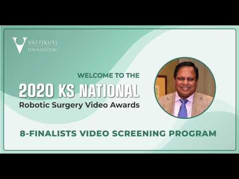2020 KS National Robotic Surgery Video Awards Finalists
