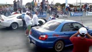 preview picture of video '25.05.2014 Akhisar Drag Toyota Supra Arıza'