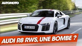 Audi R8 RWS : mieux qu