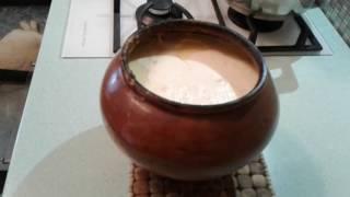 Молоко топленое дома-вкууууусное!