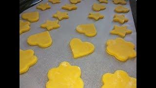 Домашнее печенье на сливках. Готовим с детьми
