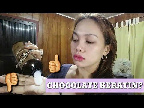 Castor oil at pula ng itlog hair mask