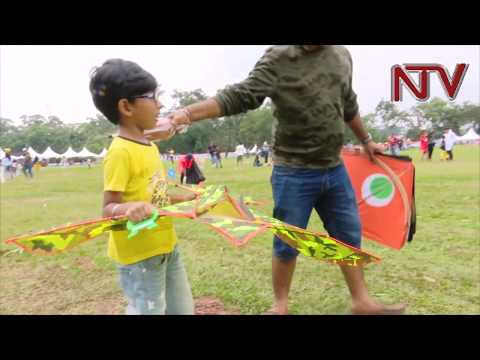 Kampala celebrates diversity through kite flying