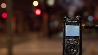 Olympus LS-P4 Audio Recorder - Noise Reduction Tutorial