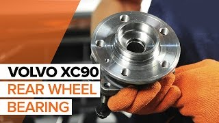 How To Replace A Rear Wheel Bearing On VOLVO XC90 1 TUTORIAL | AUTODOC
