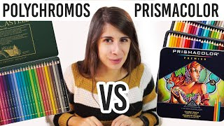 MIGLIORI MATITE per DISEGNARE? Prismacolor Vs Polychromos 🐸 Fraffrog