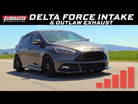 2015-18 Ford Focus ST 2.0L - Delta Force Intake & Outlaw Exhaust System 817795