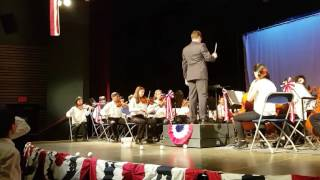 Hail To The Chief - Jamieson Senior Strings Concert 2017