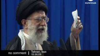 Iran Khamenei addresses the nation