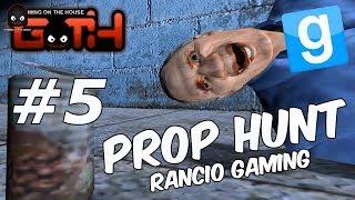 Prop Hunt #5 (NUEVO MAPA!) GMOD En Español - GOTH