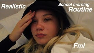 Realistic School Morning Routine 2018