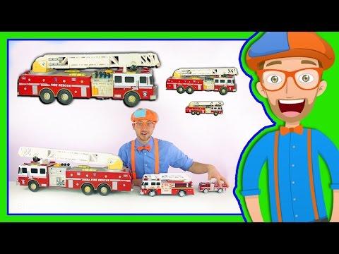 fire truck from blippi
