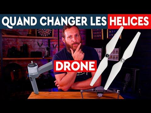 Quand changer les hélices de son drone ?