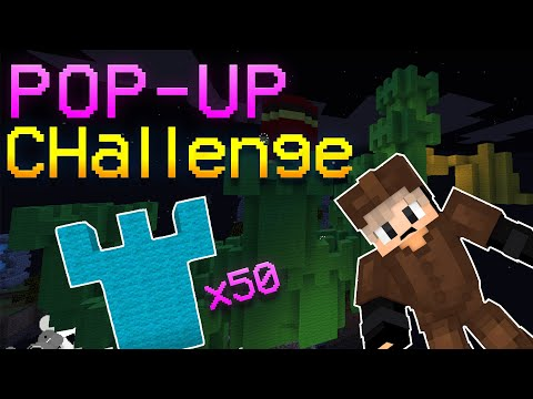 Bedwars...But We Can ONLY USE POP UP TOWERS! FT. Andrew