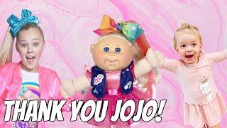 JoJo Siwa Sent Ivy A Cabbage Patch Doll!!!