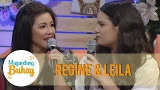 Magandang Buhay: Regine reveals that Michelle is a fan of her as a singer