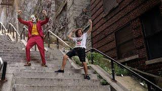Viajé horas para ver las famosas escaleras de Joker 🤡