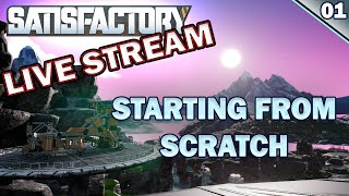 Satisfactory from scratch: Starting a new ep.01