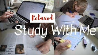 Relaxed Study Day    Holiday Study With Me