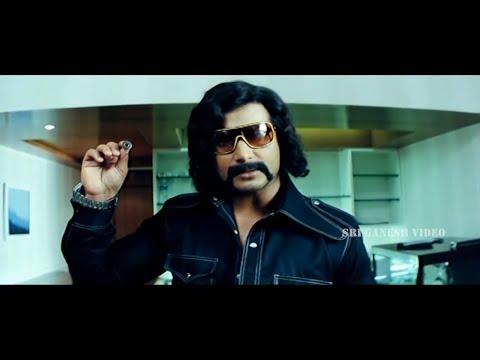 Darshan in Thrimurthi Dr Rajkumar Getup Action Scene | Abhay Movie | Kannada Movies Darshan