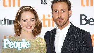 La La Land Ryan Gosling & Emma Stone On Filming Fan Reactions & Award Buzz  People NOW  People