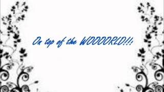 On Top Of The World- Rachel Bearer (Lyrics in mp3 + Description)