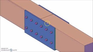 Steel Sleeve Timber Beam Splice Connection