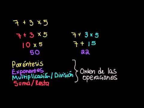 Introducción al orden de las operaciones (video) | Khan Academy