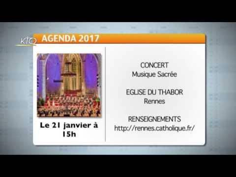 Agenda du 2 janvier 2017