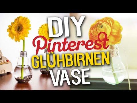 Glühbirnen-Vase - Schnell und einfach selbst gemacht