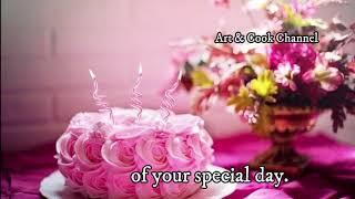 August 9 | Happy Birthday 🎂 Birthday Wishes♫ Birthday Song🎉whatsapp Happy Birthday Status Video