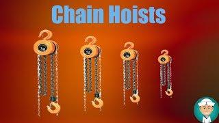 Chain Hoists - How should you use Chain hoists?