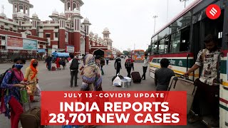 Coronavirus on July 13: With 28,701 new cases, India crossed 8.7 lakh mark - WITH