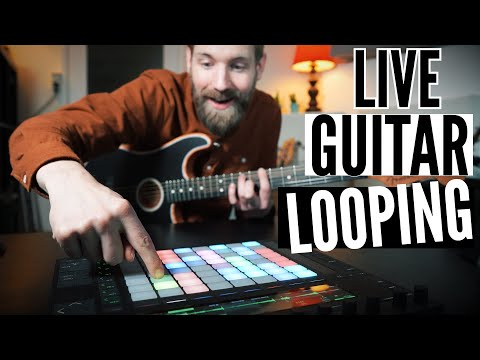 My GUITAR LOOPING vision & setup explained!