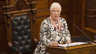 Ontario Lt.-Gov. Elizabeth Dowdeswell delivers throne speech LIVE