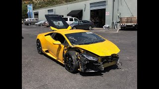 REBUILDING A WRECKED LAMBORGHINI HURACAN FROM COPART PART 3