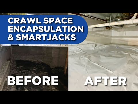 Before & After Crawl Space Encapsulation &...