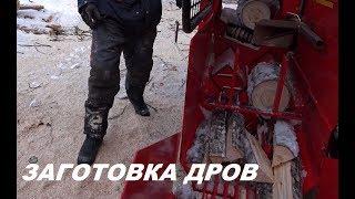 КАК ФИННЫ ЗАГОТАВЛИВАЮТ ДРОВА / ВЛОГ /