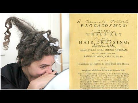 Hair Tutorial 18th Century Edition