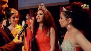 De TOP 3 op de finale van Miss Armenia Belgium 2016