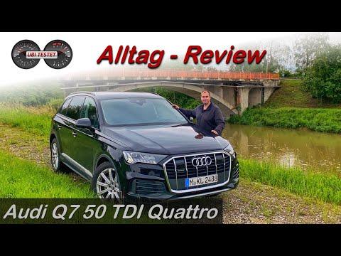 Audi Q7 50 TDI Quattro - Unnütz oder echter Familienwagen?! Test - Review - Alltag - Verbrauch