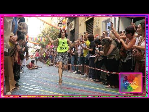 Carrera de Tacones, ponemos condones y Beatriz Luengo - Orgullo Madrid 2018 VLOG #2 I edusanzmurillo
