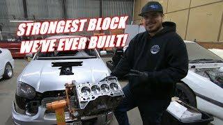 Assembling The Built Bottom End For Hondaru!
