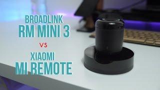 Xiaomi Mi Remote vs Broadlink RM Mini IR Blaster Universal Wifi Remote - dooclip.me