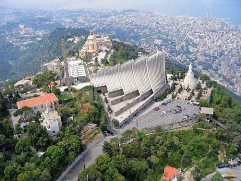 Ливан, Джуния, гора Хариса, статуя Свято